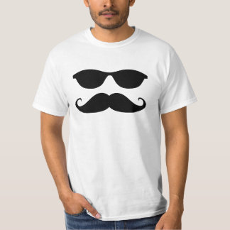Sunglasses and Stache T-Shirt