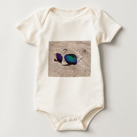 Sunglasses Baby Bodysuit