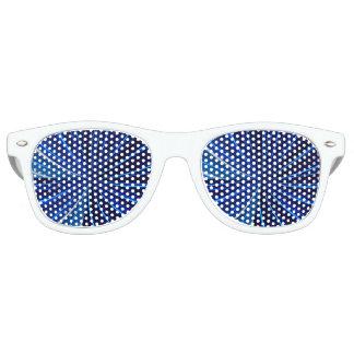 sunglasses blue pattern