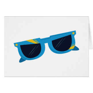 Sunglasses Greeting Card