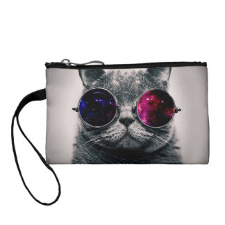 sunglasses cat coin wallet