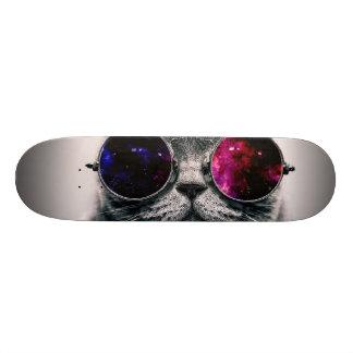 sunglasses cat skate decks