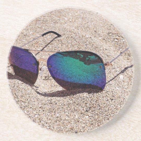 Sunglasses Drink Coasters