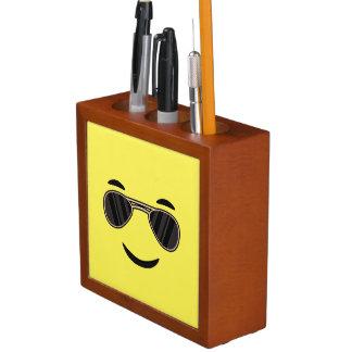 Sunglasses Emoji Desk Organizer