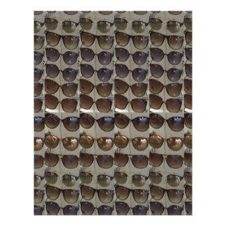 Sunglasses Goggles Fashion accessory template diy Customized Letterhead