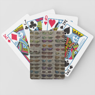 Sunglasses Goggles Fashion accessory template diy Poker Deck