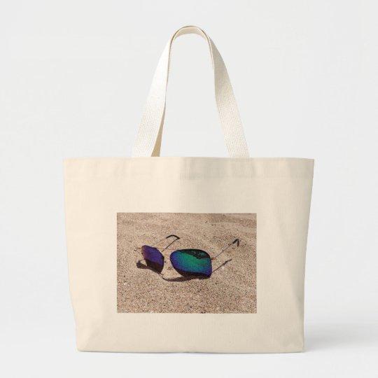 Sunglasses Large Tote Bag