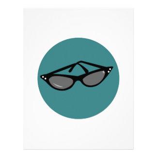 Sunglasses Personalized Letterhead