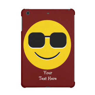 Sunglasses Mr. Cool Emoji iPad Mini Cover