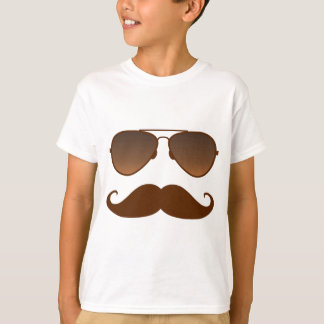 Sunglasses Mustache T-Shirt