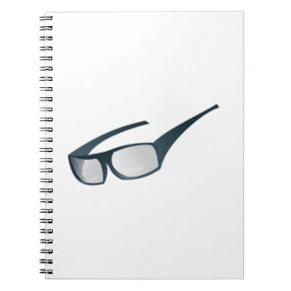 Sunglasses Spiral Note Book