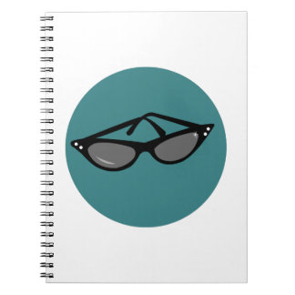 Sunglasses Spiral Notebooks