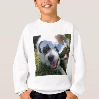 Sunglasses on dog BRIGHT FUTURE for ME Sweatshirt