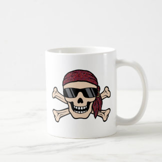 Sunglasses Skull Coffee Mugs