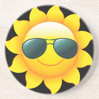 Sunglasses Sun Garden Coaster