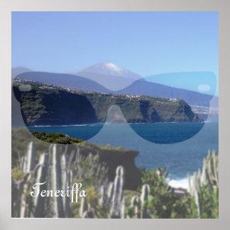 Sunglasses Tenerife Print