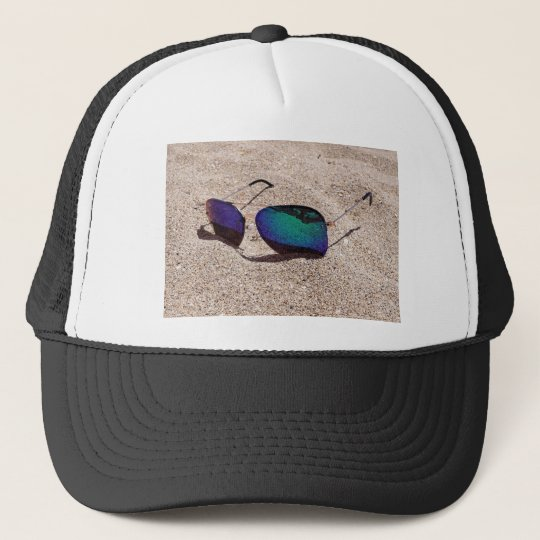 Sunglasses Trucker Hat