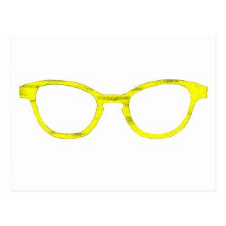 Sunglasses Yellow Rim The MUSEUM Zazzle Gifts Postcards