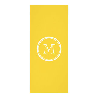 Sunglow Yellow High End Colored 4x9.25 Paper Invitation Card