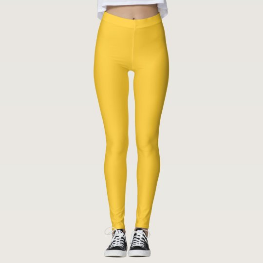 Sunglow Yellow Leggings
