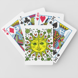 Sunhine 2a bicycle playing cards