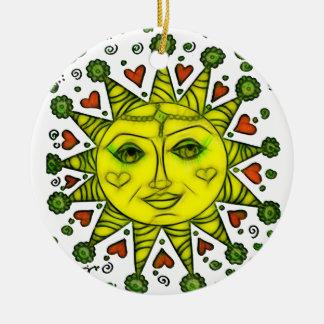 Sunhine 2a ceramic ornament