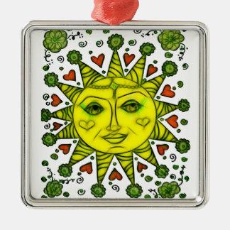 Sunhine 2a metal ornament