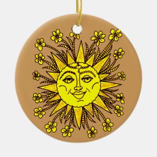 Sunhine Ceramic Ornament