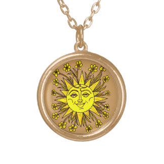 Sunhine Gold Plated Necklace