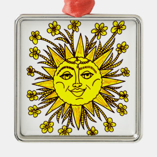 Sunhine Metal Ornament