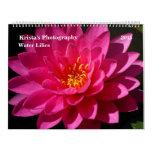 Sunken Gardens Water lilies 2015 #5 Wall Calendars