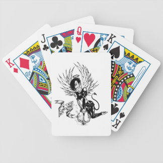 Sunken Love - Punk Rock Pin-Up Tattoo Bicycle Playing Cards