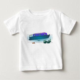 Sunken Narrowboat Baby T-Shirt