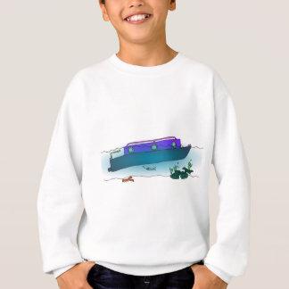 Sunken Narrowboat Sweatshirt