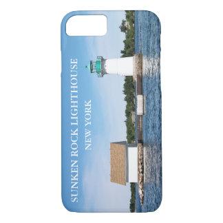 Sunken Rock Lighthouse, New York iPhone 7 Case