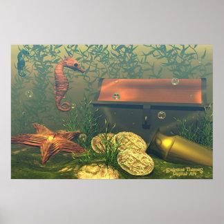 Sunken Treasure Poster