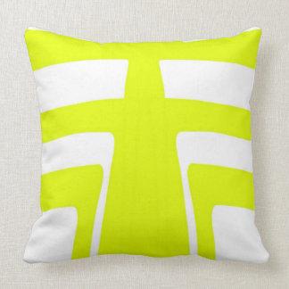 Sunlight Abstract Design Throw Pillow