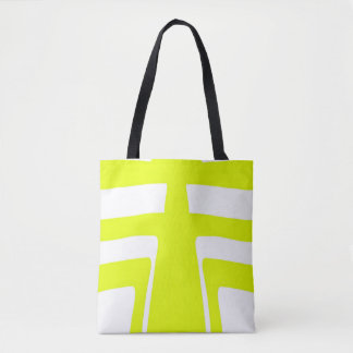 Sunlight Abstract Design Tote Bag