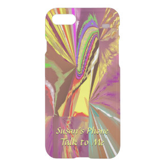 Sunlight - Exciting Abstract with Your Text iPhone 8/7 Case