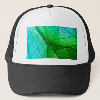 Sunlight Filtering Through Transparent Leaves Trucker Hat