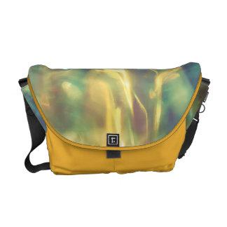Sunlight in the emerald sea commuter bags