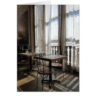 Sunlight in the Tea House Card