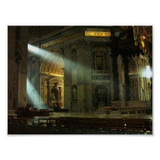 Sunlight in the Vatican Poster