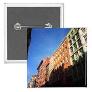 Sunlight On Soho Buildings, NYC Pin