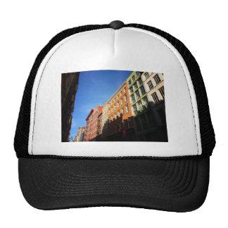 Sunlight On Soho Buildings, NYC Hats