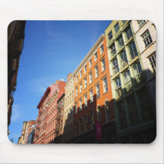 Sunlight On Soho Buildings, NYC Mouse Pads