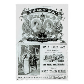 Sunlight Soap advertisement Poster