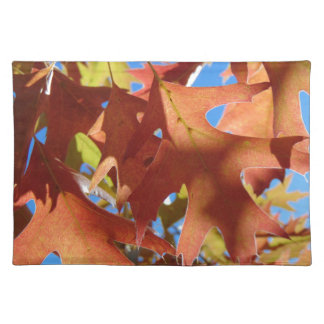 Sunlight Through Autumn Leaves Placemat