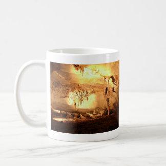 Sunlight through the cave hole basic white mug