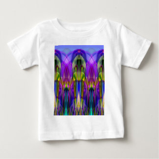 Sunlight Through the Clerestory Stained-Glass Look Baby T-Shirt